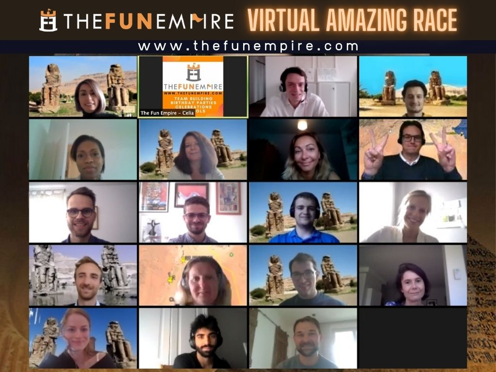 Virtual Amazing Race