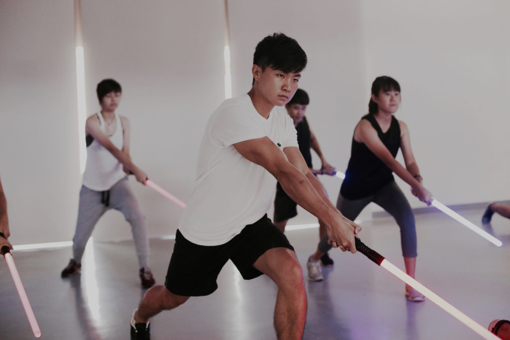 Team Building Company In Singapore - saberfit