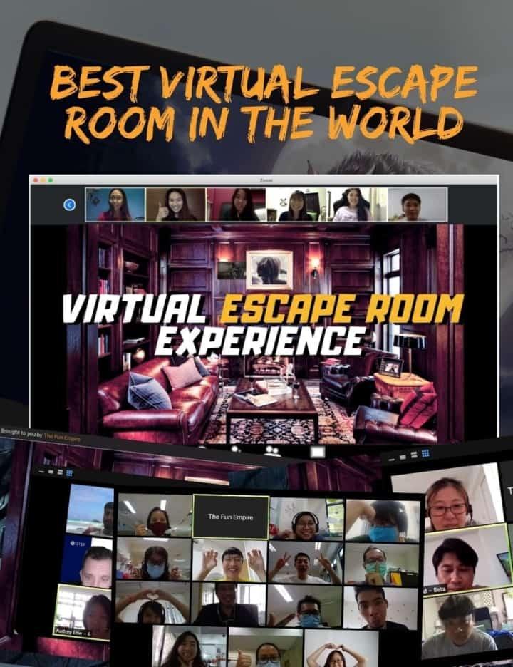 Virtual Team Building - Team Building Singapore