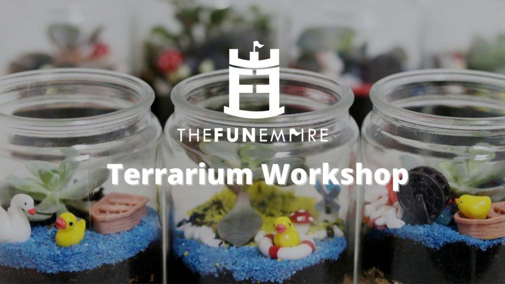 Team Building Company In Singapore - terrarium workshop