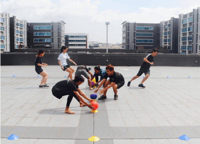 Team Building Company In Singapore - bullet ball
