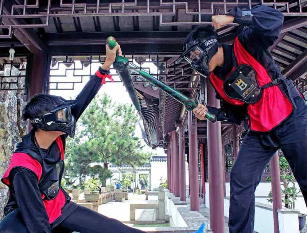 Team Building Company In Singapore - ninja tag