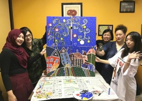 art jamming singapore - build closer relationships