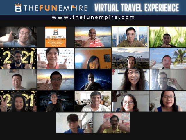 Virtual Travel Experience - Virtual Team Building Australia