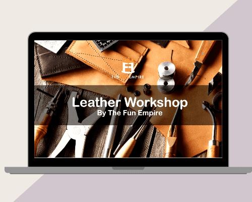 Virtual Leather Making Workshop - Virtual Team Building Australia